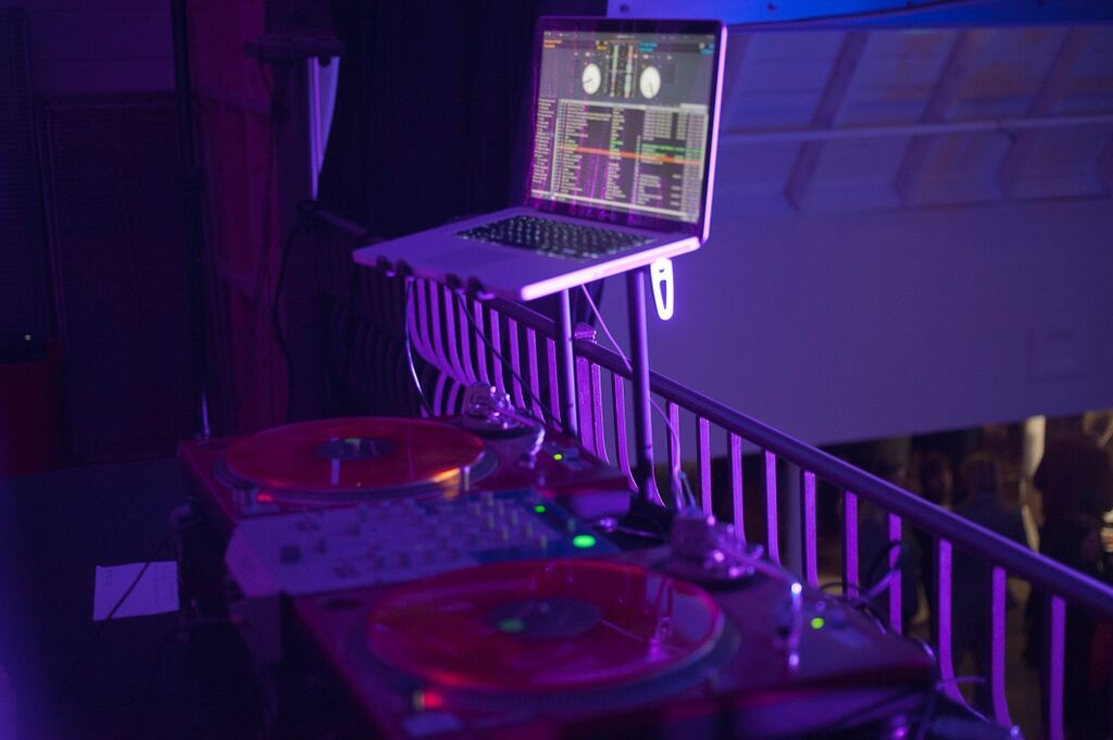 Sterling Events DJ equipment
