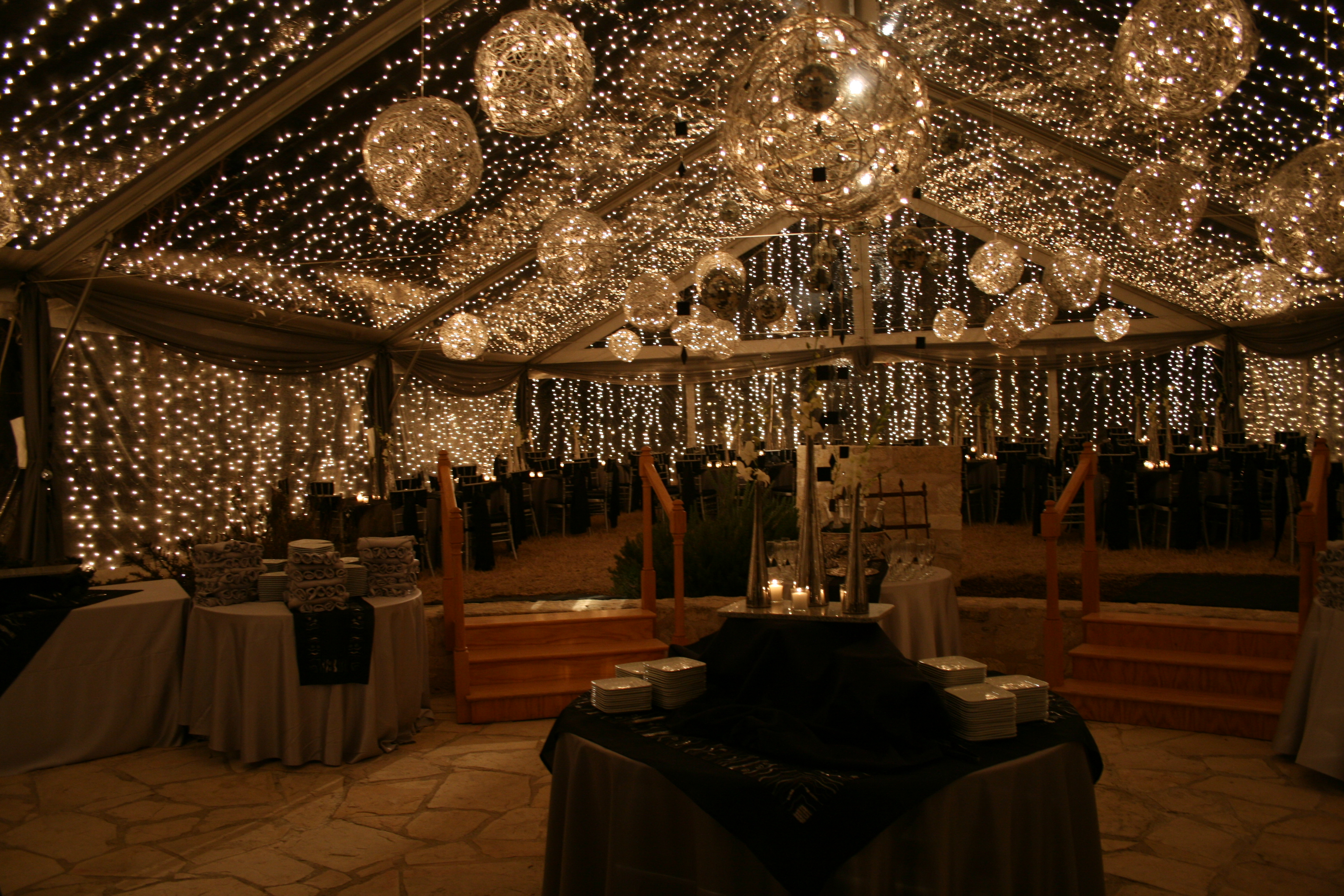 wedding crystal star drapes make co gardens draping for how tulum drape ceiling smsender hang events a to